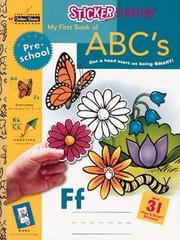 Cover of: My First Book of A B C's | Golden Books
