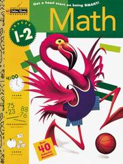 Cover of: Math, Grades 1-2 with Sticker (Step Ahead) by Golden Books