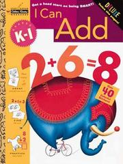 Cover of: I Can Add (Grades K - 1) (Step Ahead Plus Workbook) by Golden Books