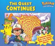 Cover of: The Quest Continues (Glow in the Dark Maze Book) | Golden Books