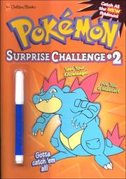 Cover of: Pokemon Surprise Challenge #2 (Mark & See) by Golden Books