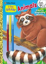 Cover of: I Can Draw Animals (Learn to Draw) by Golden Books