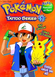 Cover of: Pokemon Tattoo Series #1 (Tattoo Time) | Golden Books