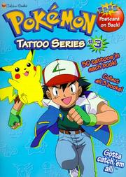 Cover of: Pokemon Tattoo Series #3 (Tattoo Time) | Golden Books