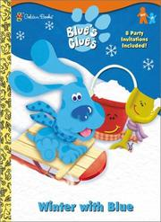 Cover of: Winter with Blue by Golden Books