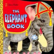 Cover of: The Elephant Book by Golden Books