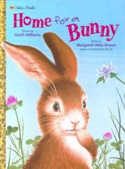 Cover of: Home for a Bunny   A Golden Lap Book | Margaret Wise Brown