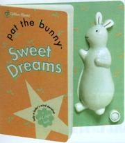 Cover of: Sweet Dreams Pat the Bunny Night Light by Golden Books