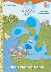 Cover of: Blue's Nature Game (Press-out Activity Book) by Golden Books