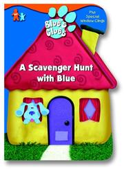Cover of: A Scavenger Hunt with Blue (Window Cling Book) | Golden Books