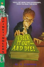 Cover of: Check It Out-And Die! (Spinetingler, No 5) | M. T. Coffin