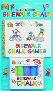 Cover of: Sidewalk Chalk Games by Golden Books