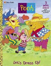 Cover of: Pooh Let's Dress Up! | Golden Books