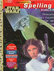 Cover of: Star Wars Spelling \Story Wkbk | Golden Books