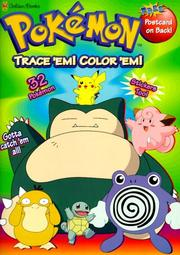 Cover of: Trace 'em, Color 'em by Golden Books