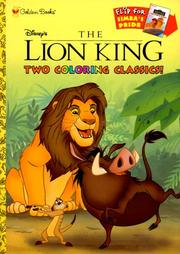 Cover of: Disney's the Lion King/Disney's the Lion King II : Simba's Pride by Golden Books