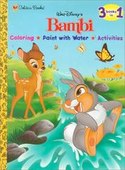 Cover of: Walt Disney's Bambi | Golden Books