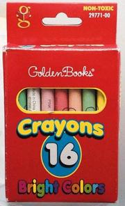 Cover of: Golden 16-count Crayons (Red Box) by Golden Books