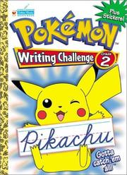 Cover of: Pokemon Cursive Challenge Grade 2 with EZ Peel Stickers | Golden Books
