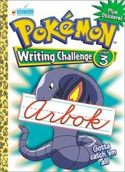 Cover of: Pokemon Cursive Challenge Grade 3 with EZ Peel Stickers by Golden Books