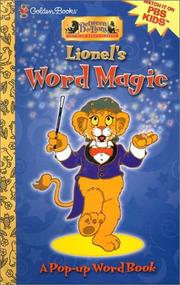 Cover of: Lionel's Word Magic by Golden Books