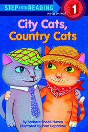 Cover of: City Cats, Country Cats by Barbara Shook Hazen