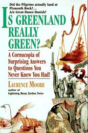 Cover of: Is Greenland really green? | Laurence A. Moore
