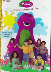 Cover of: A Very Musical Day (Barney) | Golden Books