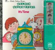 Cover of: It's Time Lil Golden Snd Stybk by Golden Books