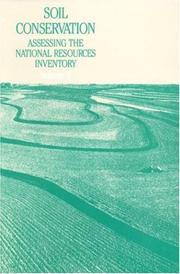 Cover of: Soil Conservation | National Research Council.