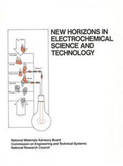 Cover of: New Horizons in Electrochemical Science and Technology (Publication Nmab) | National Research Council.