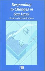 Cover of: Responding to Changes in Sea Level | National Research Council.