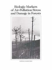 Cover of: Biologic Markers of Air-Pollution Stress and Damage in Forests by National Research Council.