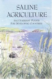 Cover of: Saline Agriculture | National Research Council.