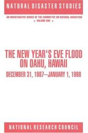 Cover of: The New Year's Eve Flood on Oahu, Hawaii | National Research Council.