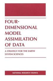 Cover of: Four-Dimensional Model Assimilation of Data | National Research Council.