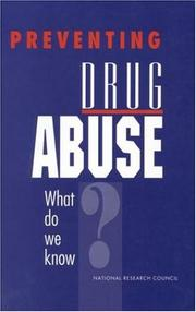 Cover of: Preventing Drug Abuse by National Research Council.
