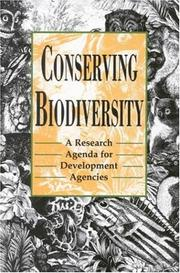 Cover of: Conserving Biodiversity | National Research Council.