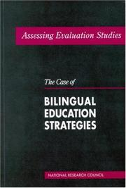 Cover of: Assessing Evaluation Studies by National Research Council.