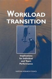 Cover of: Workload Transition | National Research Council.