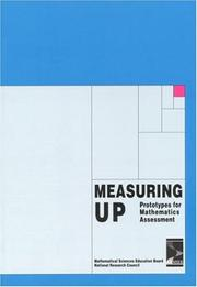 Cover of: Measuring Up | National Research Council.