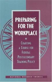 Cover of: Preparing for the Workplace by National Research Council.