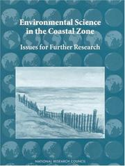 Cover of: Environmental Science in the Coastal Zone by National Research Council.