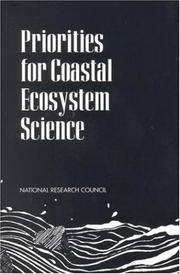 Cover of: Priorities for Coastal Ecosystem Science by National Research Council.