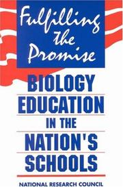 Cover of: Fulfilling the Promise by National Research Council.