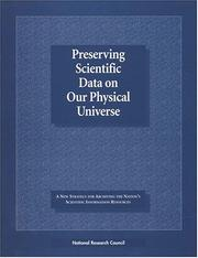 Cover of: Preserving Scientific Data on Our Physical Universe | National Research Council.