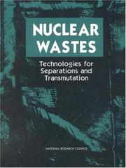Cover of: Nuclear Wastes | National Research Council.