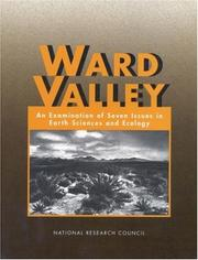 Cover of: Ward Valley | National Research Council.