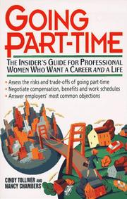 Cover of: Going part-time | Cindy Tolliver