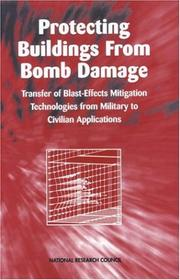 Cover of: Protecting Buildings from Bomb Damage | National Research Council.